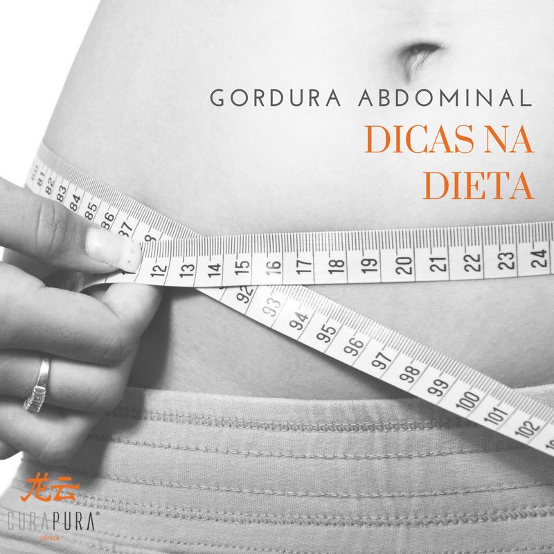 gordura no baixo abdómen